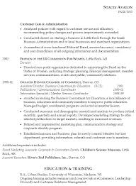 Sample Skill Resume by Resume Examples Templates Staceya2 Employment Education Skills