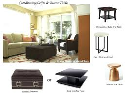 side table height for sofa how to coordinate coffee accent tables