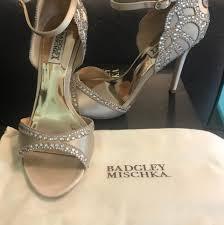 wedding shoes badgley mischka badgley mischka badgley mischka wedding heels wedding shoes on tradesy