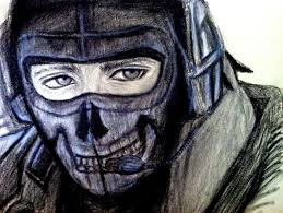 ghost modern warfare mask there s only room for one ghost in my heart gaming call of duty