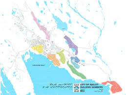 Canada Map Coloured by Iqaluit Neighbourhood Guide U2014 Finding True North