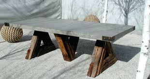 diy concrete dining table dining table concrete outdoor dining table nz project round diy