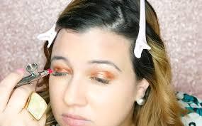 luminess air airbrush eyeshadows demo u0026 review lipstick u0026 brunch