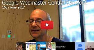 webmaster google webmaster central hangout archives deepcrawl google webmaster hangout notes june 16th 2017