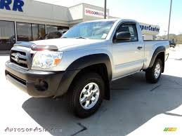 toyota tacoma silver 2006 toyota tacoma regular cab 4x4 in silver streak mica 210373