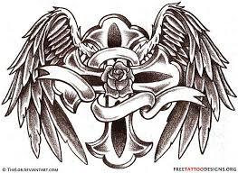 10 latest cross memorial tattoo designs