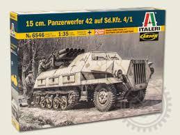 opel blitz maultier panzerwerfer 42 maultier halbkette 1 35 italeri 6546