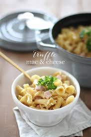 thanksgiving mac and cheese recipe truffle mac u0026 cheese recipe with gouda