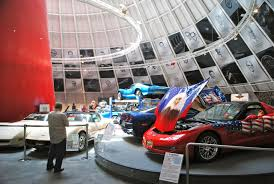 where is the national corvette museum located national corvette museum win chevrolet buick gmc
