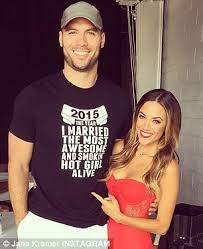 jana kramer marries mike caussin after whirlwind nine month