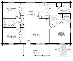log homes floor plans lafayette log home plan by southland log homes
