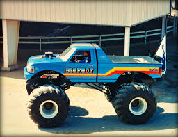bigfoot 4 monster truck monster trucks flickr