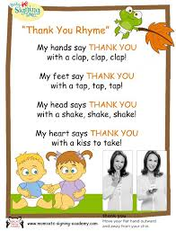 thank poems