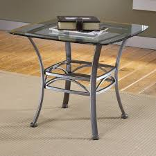 square glass end table end tables designs glass top metal hilssdale inside and remodel 9