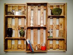 Hanging Wall Bookshelves by Hanging Wall Shelving Units Diy Pallet Wall Hanging Shelf