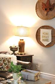 our fixer upper fall home tour living room u2014 miss molly vintage