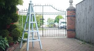 climbing plants for your garden and wooden obelisk