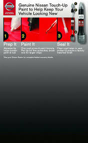 amazon com nissan touch up paint 5oz 3 in 1 applicator g41