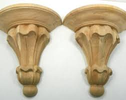 Large Wooden Corbels Antique Corbels Large Wood Corbels Vintage Corbels