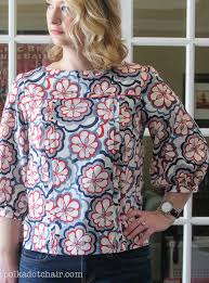 blouse sewing patterns mathilde blouse sewing pattern the polka dot chair