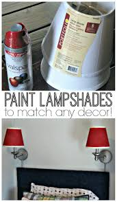 how to paint lamp shades inspiation for moms