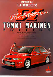 mitsubishi evo red mitsubishi evo vi tommi makinen edition the mechanists