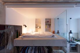 Loft Bed With Closet Underneath This Architect Made A Small Apartment Liveable By Designing A Loft