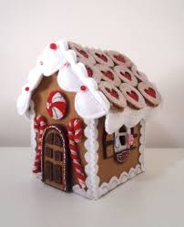 yet another gingerbead house gingerbread felting and house