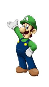 draw luigi super mario video games easy step step