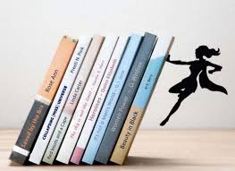 superhero bookends save the day and your books inhabitat