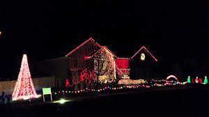 christmas light display to music near me clark griswold christmas music light display part 1 youtube