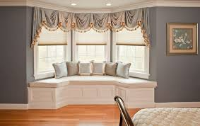 Fancy Drapes Bay Window Curtains Diy Modern Design Images Of How To Choose The