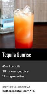 más de 25 ideas increíbles sobre mixed drinks with tequila en