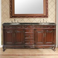 Wood Bathroom Furniture Bathroom Gorgeous Bathroom Furniture Of Red Brown Cherry Wood
