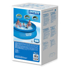 Intex Inflatable Swimming Pool Inflatable Easy Up Swimming Pool 366 X 76 Cm Blue 28130