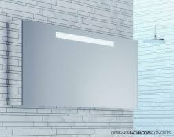 bathroom contemporary wall mount bathroom mirror cabinet with led