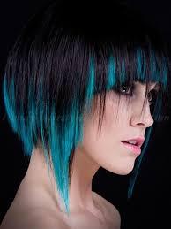 bob hair lowlights bob haircut black bob with blue lowlights trendy hairstyles