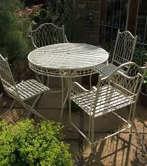 Large Bistro Table And Chairs Ivory Bistro Set