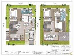 north facing house plans in 30x50 site arts