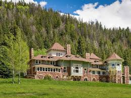 tudor house style english tudor style american castle in the rocky mountains