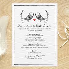 bird wedding invitations wedding invitations brides