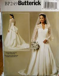 wedding dress pattern butterick royal wedding dress pattern for catherine s gown