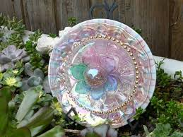 189 best glass lawn ornaments images on