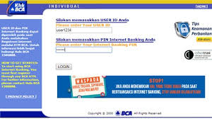 Klikbca Individual Bca Tv Subscription Payment Gets Easier With E Banking Bca