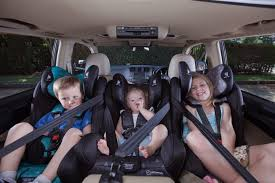 hyundai santa fe 3 child seats the magic number three across infasecure