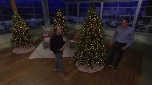 bethlehem lights prelit needle pine tree on qvc