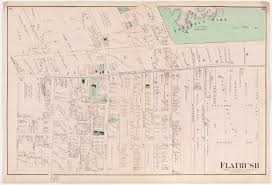 Paper Town Map An American Family Grows In Brooklyn Flatbush From Frontier To