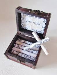 stocking stuffer christmas gift date night scroll box