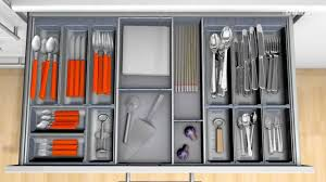 Cutlery Trays Blum Orga Line Cutlery Insert For Wider Drawers Youtube
