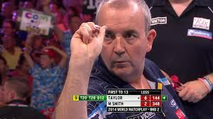 world matchplay darts phil taylor hits nine darter in blackpool